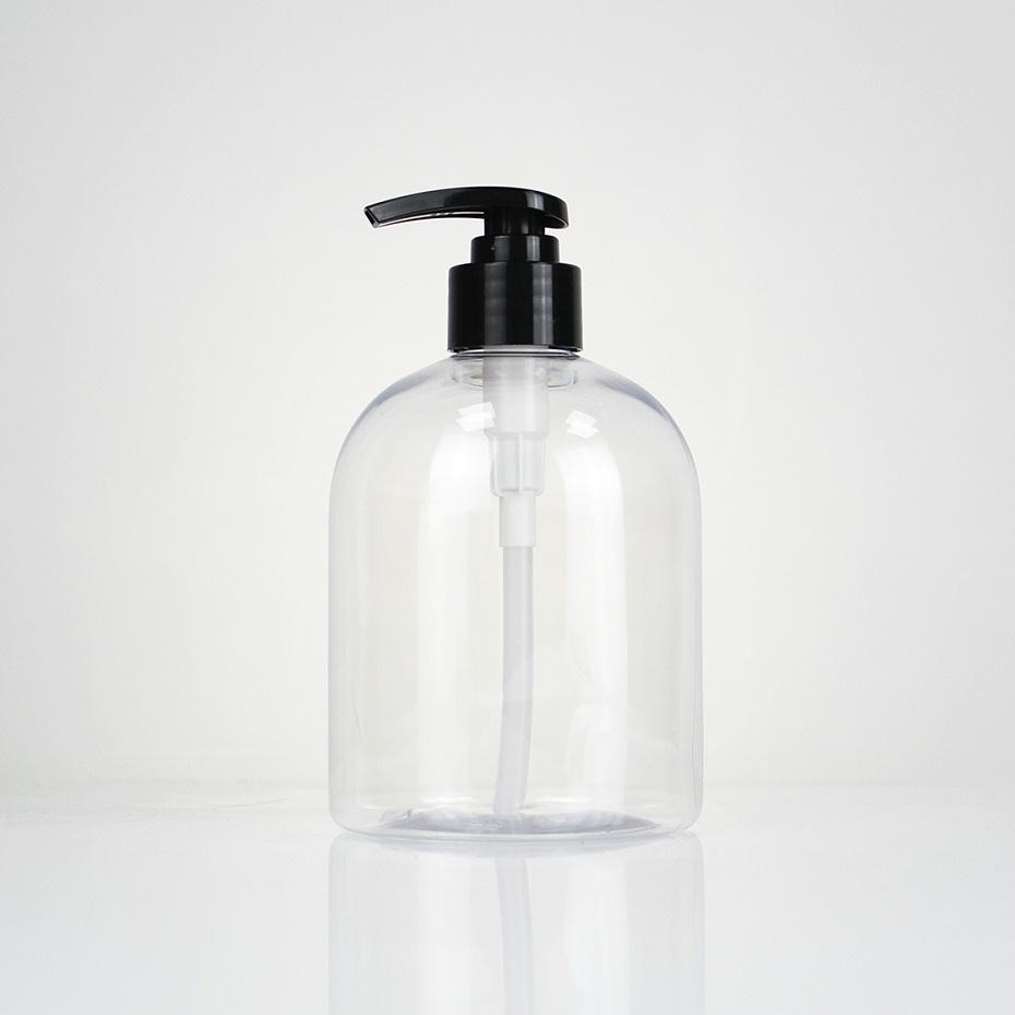 500m抗菌洗手液塑料瓶(黑)